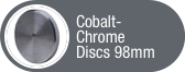 Click to view Cobalt-Chrome Discs 98mm